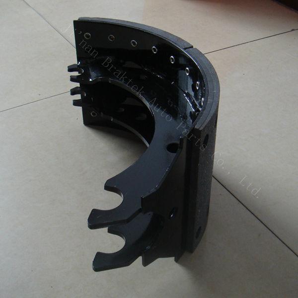 Semi Truck Brake Lining : High quality semi truck brake shoes assembly buy