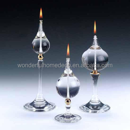 Hot Sale! 5x20cm Decorative Indoor Tube Glass Oil Lamp - Buy Glass ...