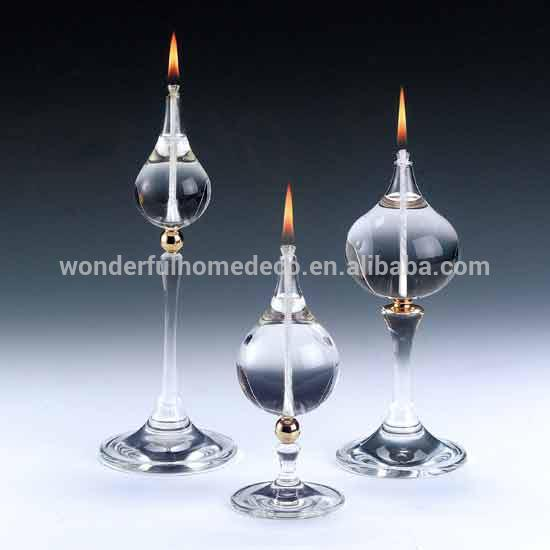 2014 Hot Sale Decorative Table Small Glass Oil Lamp - Buy Table ...