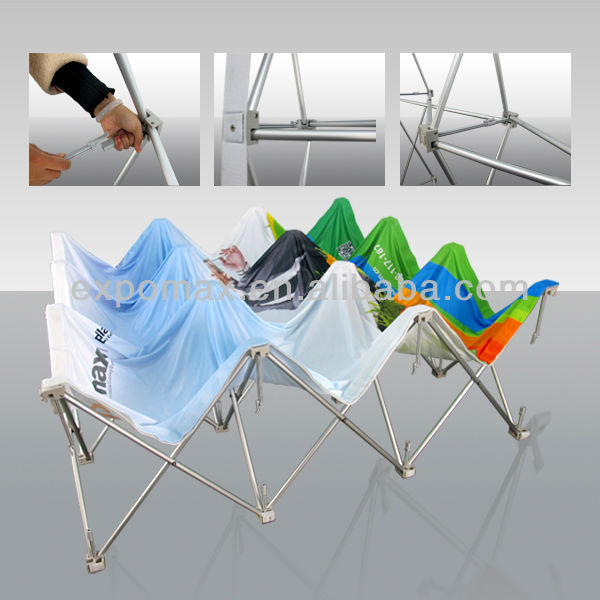 portable floor standing pop up shop display/China supplier