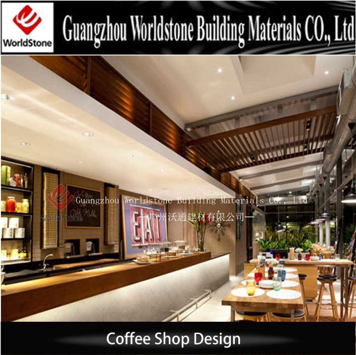 Custom Made Cafe Shop Cashier Counter Table Design Buy