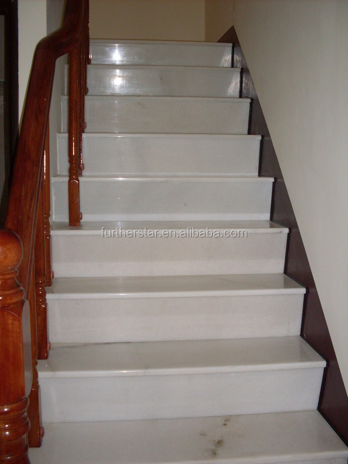 Lovely White Marble Stairs Marble Steps