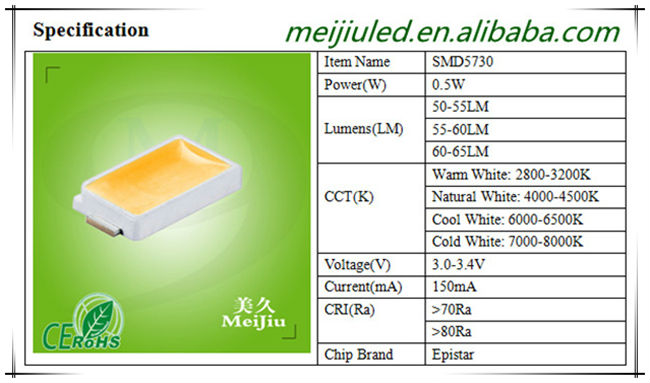 Good Quality 150ma Cold White 10000k Taiwan Epistar Chip Led ...