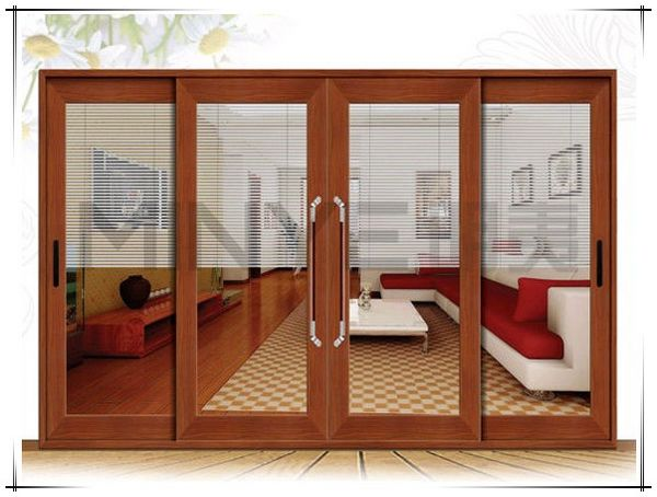 Aluminium Soundproof Venting Laminate Glass Shop Entry Front