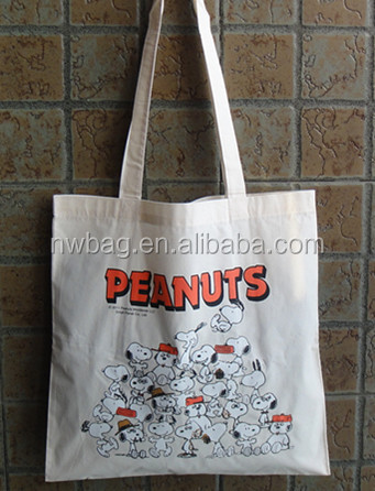 Top quality promotional hemp canvas bag/Plain Canvas Tote Bag/calico cotton shopping carry bags
