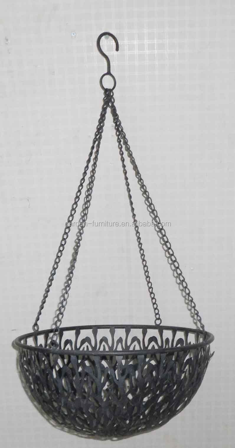 Wholesale Garden Planter Holders Handicraft Antique Hanging Wire ...