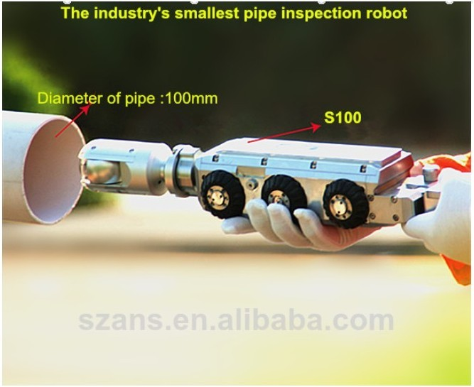 Singa100 Rov Crawler Sewer And Underwater Pipe Inspection