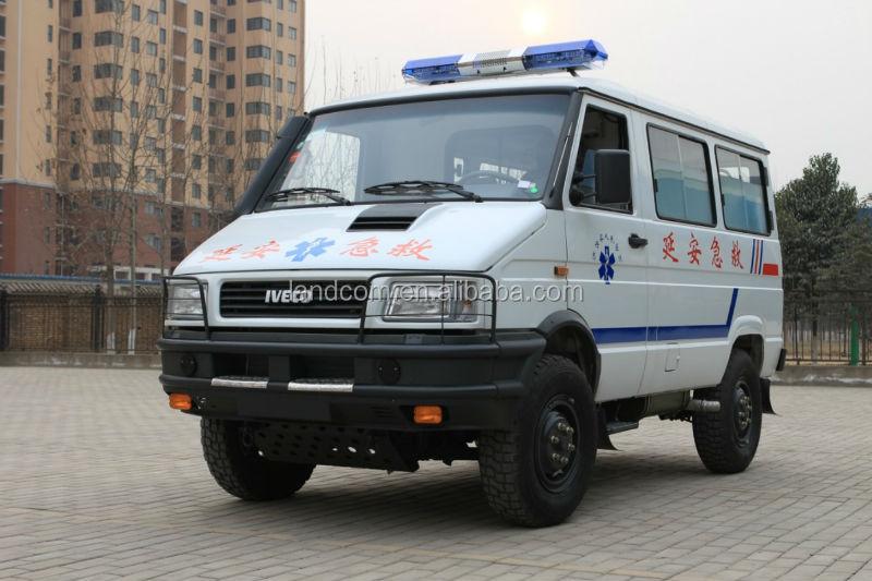 Supply LHD Diesel 4wd Icu Ambulance Vans Manufacture Price