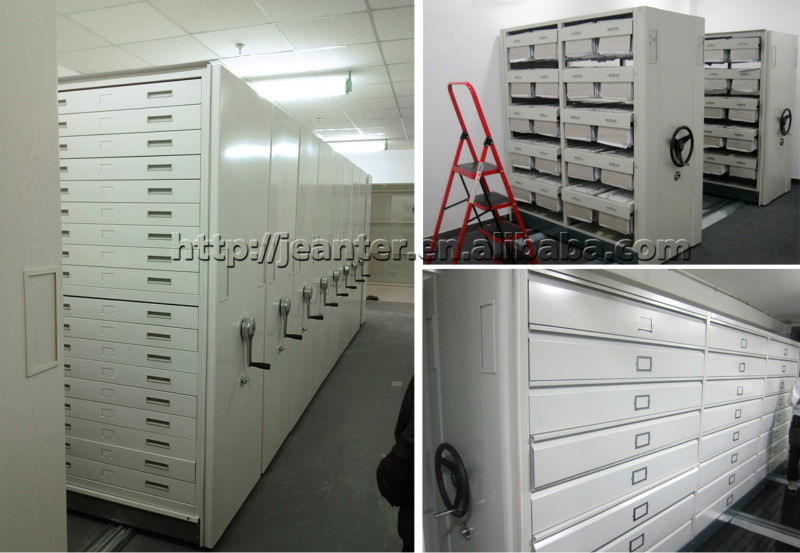 Mechanical Iron Mobile Heavy Goods Rack Warehouse Storage Racks Cargo Shelves