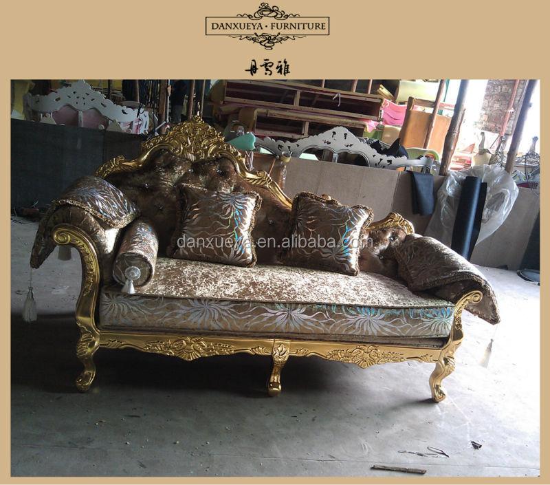Italian Sofa Jakarta: Italian Classic Chaise Lounge Sofa