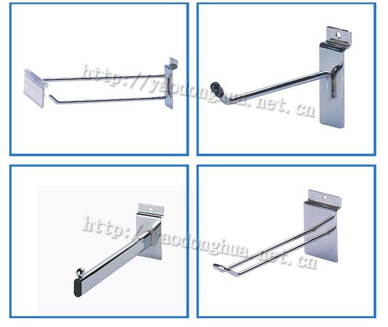 Single J Slatwall Wire Hook /steel Wire Slatwall Hooks / Wire Rack ...