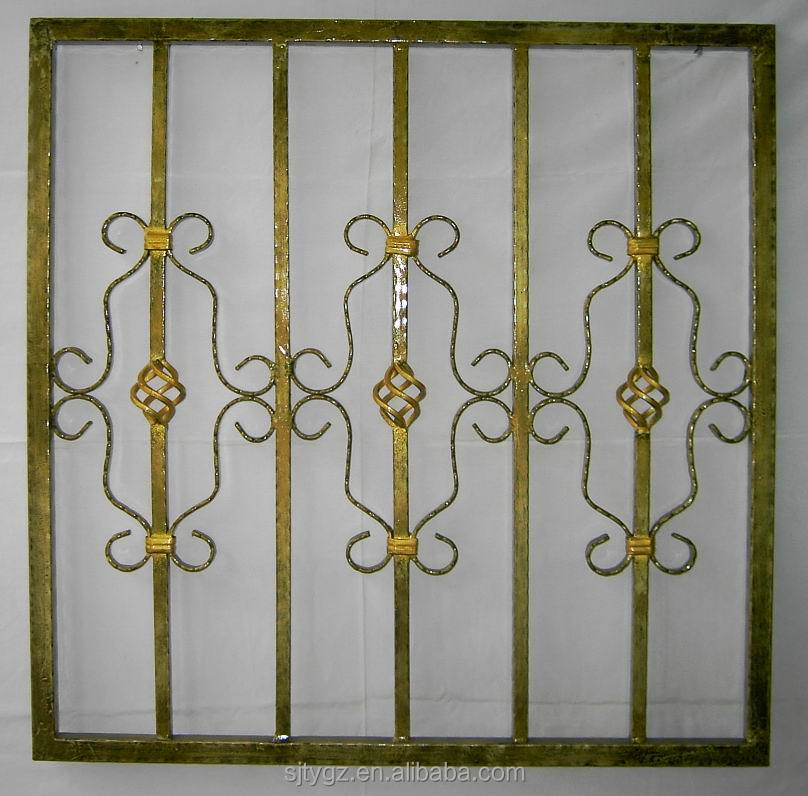 Modern Style Wrought Iron Window Grill Design Buy Design