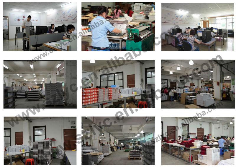 Shenzhen OEM usine A5 taille papier couché impression de livre relié bon marché