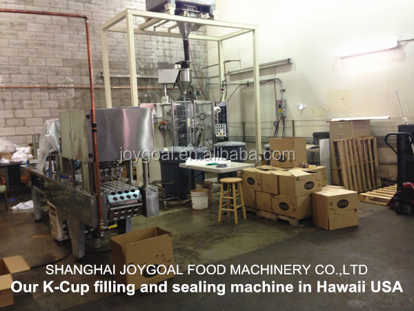 K cup coffee filling machine/K cup sealing machine/K cup filling and sealing machine