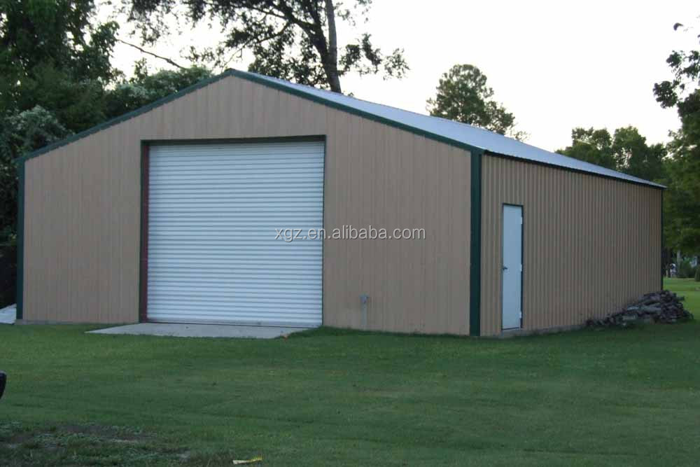 cheap simple and install fast light steel structure carport warehouse