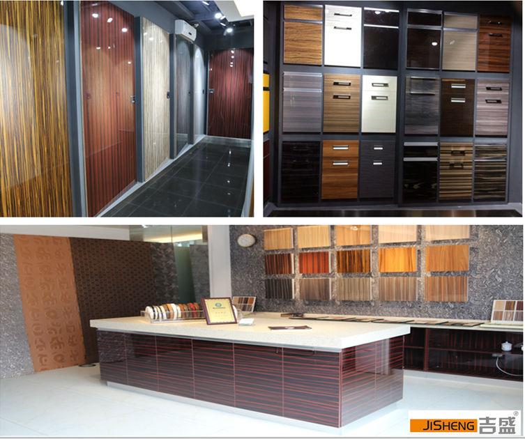 Kitchen Cabinet Doors Wholesale: Wholesale Uv High Gloss Laminate /mdf Kitchen Cabinet Door