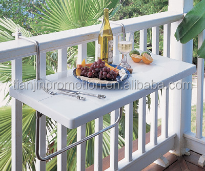 Mdf balc n colgando mesa buy product on for Mesa colgante para balcon
