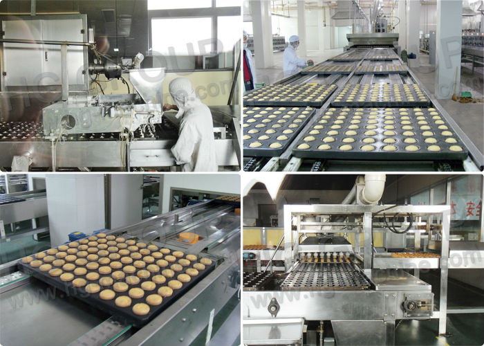 Shanghai Hg Factory Price Gas Tunnel Oven Cake Bakery