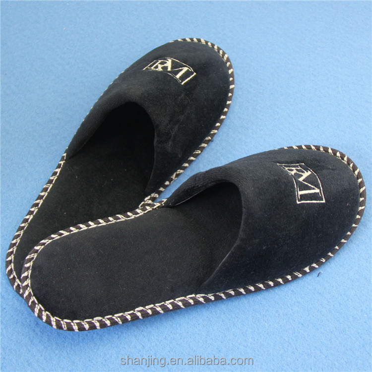 wholesale upmarket hotel slippers online ordering