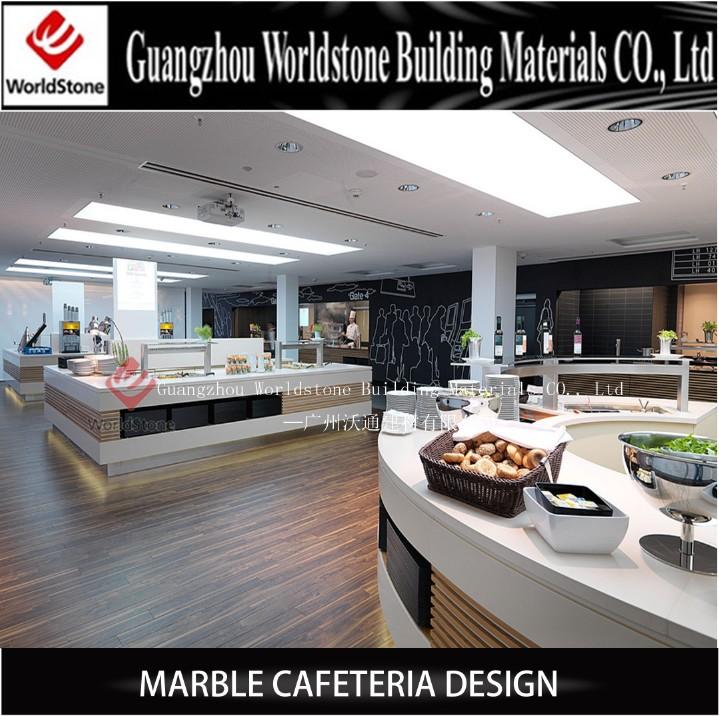 Foshan Sushi Bar Buffet Counter Ice Shop Furniture Design