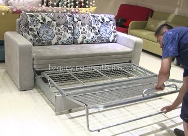 Enlarged Folding Futon Bed Frame With