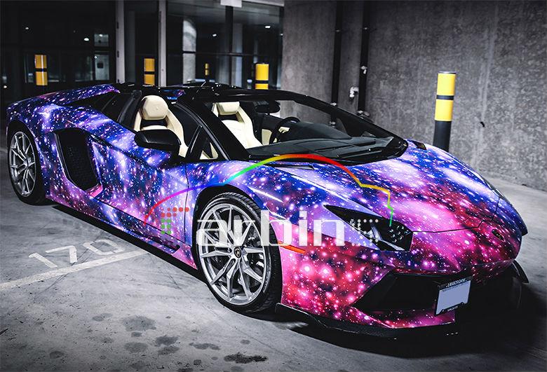 Galaxy Starry Car Foil Wrap Buy Car Foil Wrap Car Foil