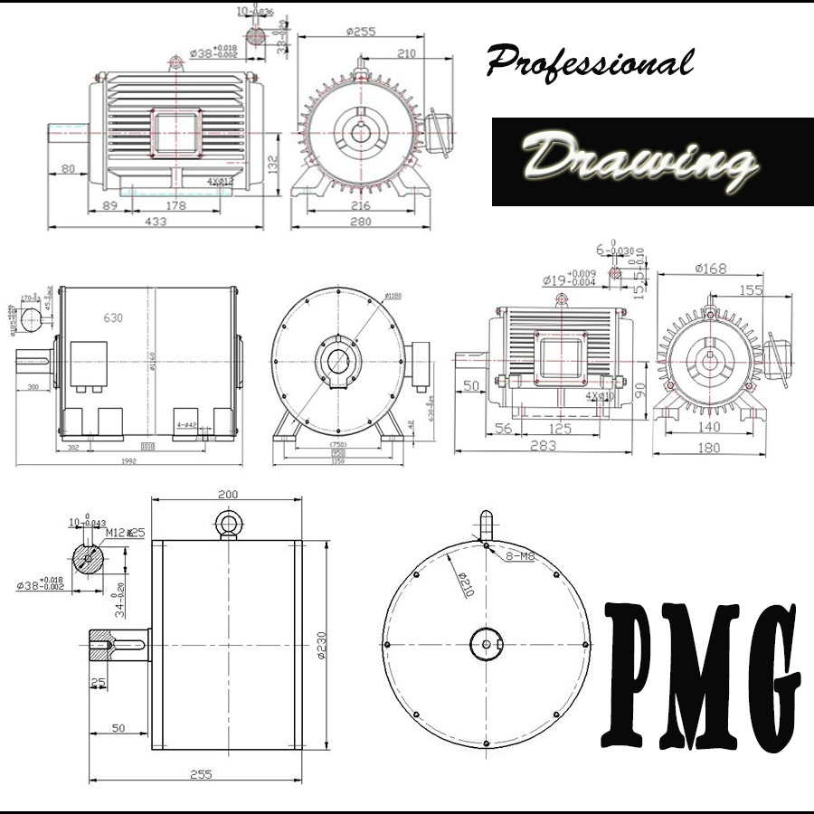 20kw 100rpm Low Speed Hydro Permanent Magnetic Generator Buy High Diagram