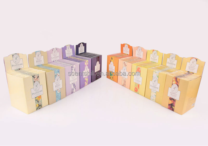wholesale hanging lavender scents wardrobe/ home/vent air freshener sachet