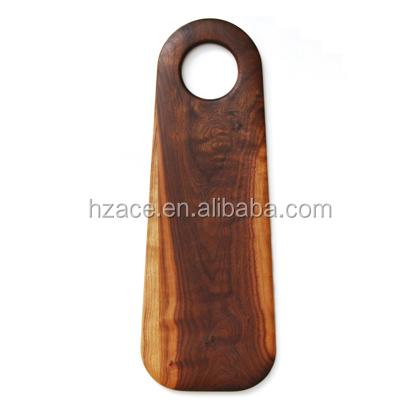 Food Safe Oiled Black Walnut Wooden Bread Cutting Board Wooden Long Chopping Board With Round Hole Buy Wood Cheese Cutting Boardcustom Wood Cutting