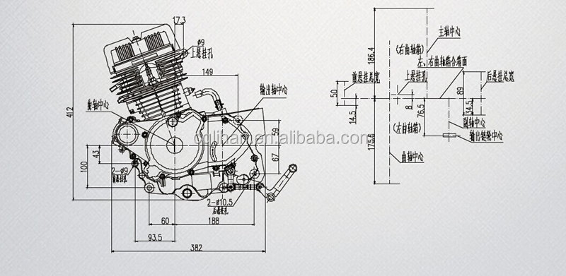 Diagram Motorcycle Engine 125cc Example Electrical Wiring Diagram