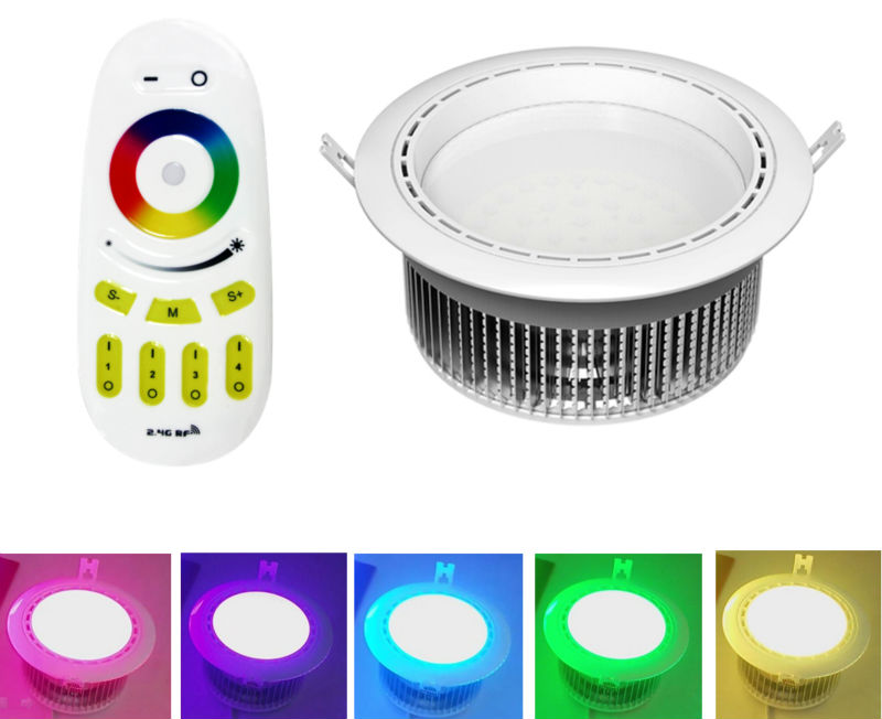 2.4g Rf Remote Control Led Downlight Series Remote And Wifi ...