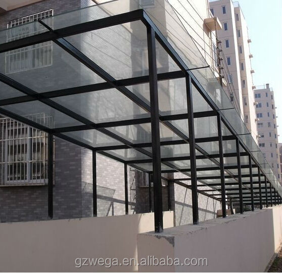 Popular Design Aluminum Glass Canopy Buy Aluminum Glass