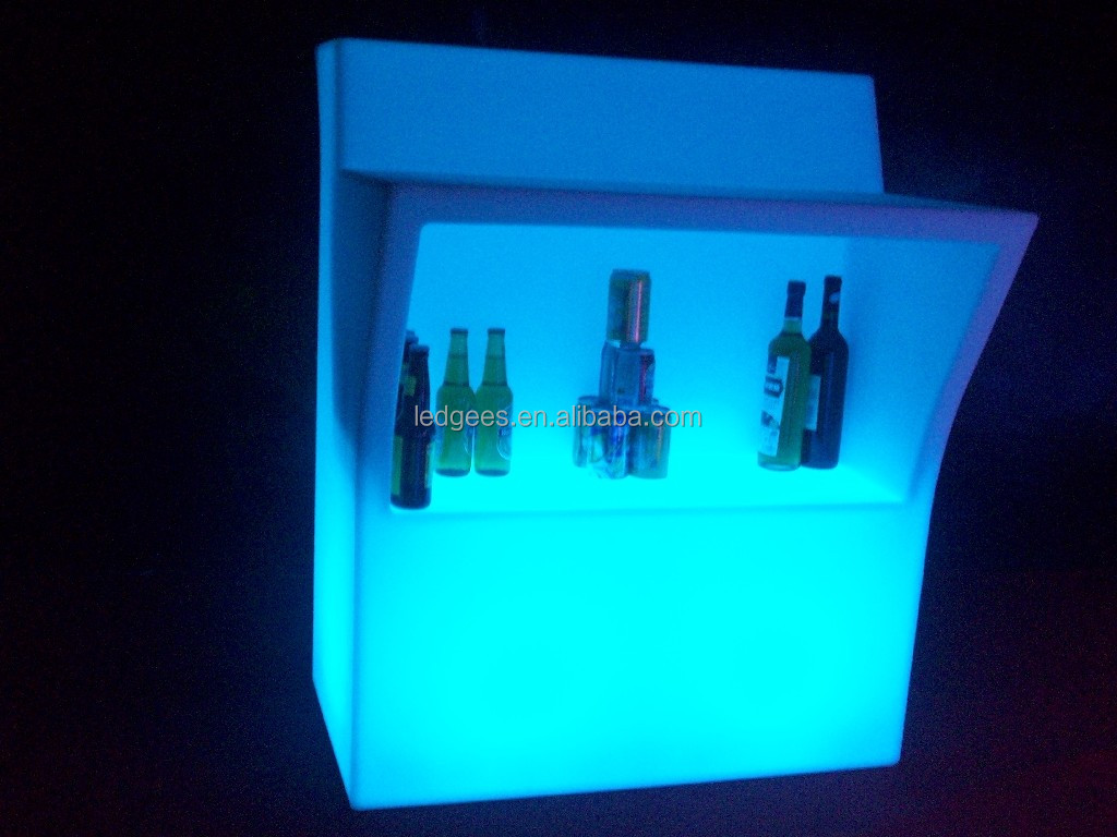 Coolqing Luminoso Led Muebles Modernos Luminated Caf Bar Para La  # Muebles Luminosos