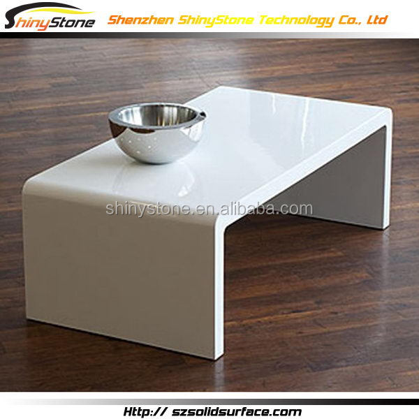 1800 1800mm Square Shape Designer White Acrylic Solid