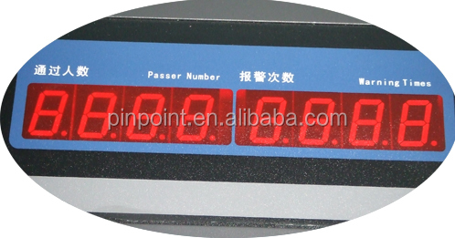 Pinpoint factory PD-2000 indoor&outdoor expandable security metal gates