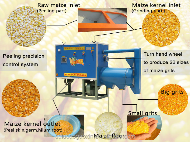 Small House Used Maize Milling Machine For South Africa 12