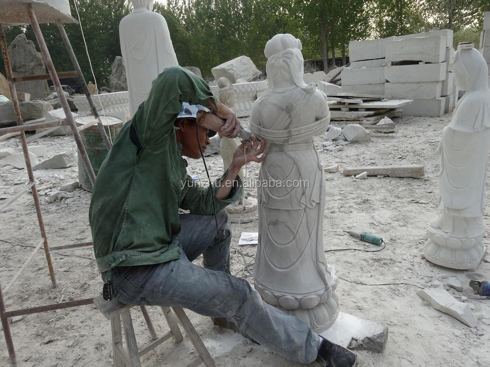 Happy Buddha Outdoor Stone Carving Buddha Statues For Sale