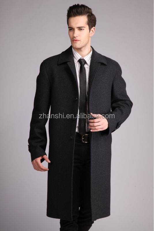 Custom European Style Winter Jackets Plus Size Wool Coat Cashmere ...