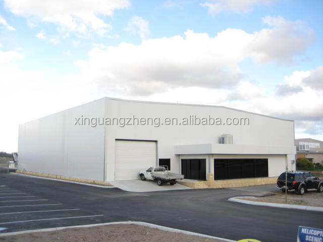 airport building prefabricated steel structure aircraft hangar