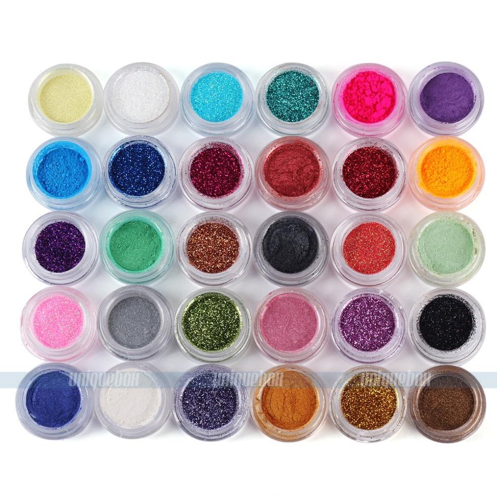 30 Colors Makeup Loose Powder Glitter Eyeshadow Eye Shadow Face Body