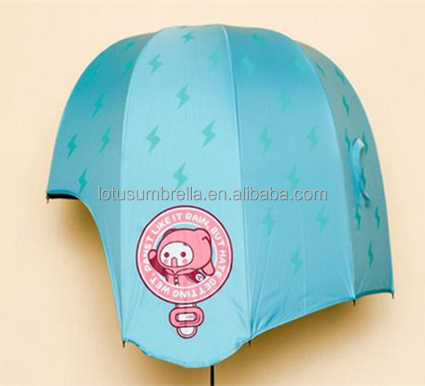 Newest Hat Umbrella helmet Umbrella