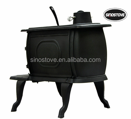 Freestanding Cheap Smokeless Wood Burning Stove Cast Iron