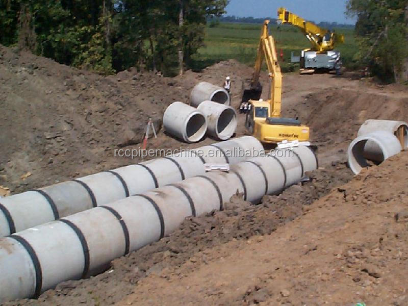 Concrete Pipe Diameters : Concrete pipe culvert making machine for diameter