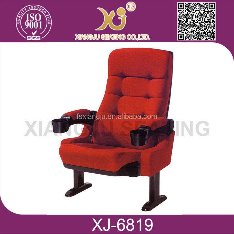 XJ 6818 High End Auditorium Chair Movie Theater Chair For Lecture Hall Cinema  Chair