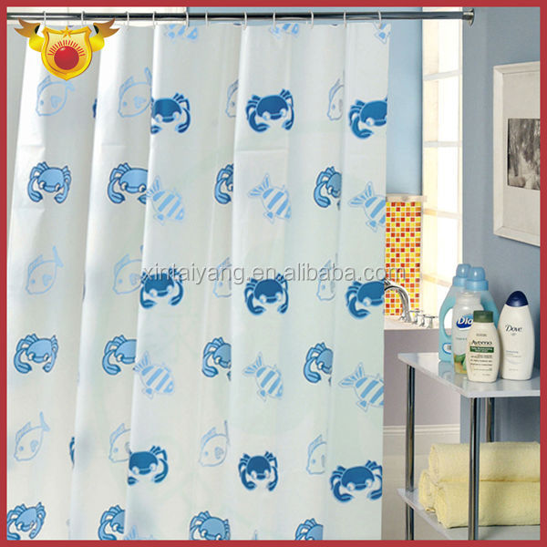 Crab Design New Model Home Goods Shower Curtains