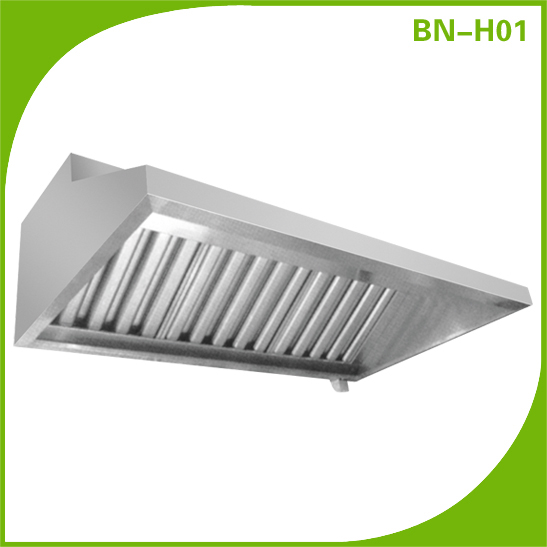 Restaurant Kitchen Hoods Stainless Steel commercial restaurant kitchen stainless steel exhaust hood bn-ho2