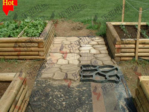 Hot Sale Plastic Paving/Cement Brick Molds For Patio Garden Pathway