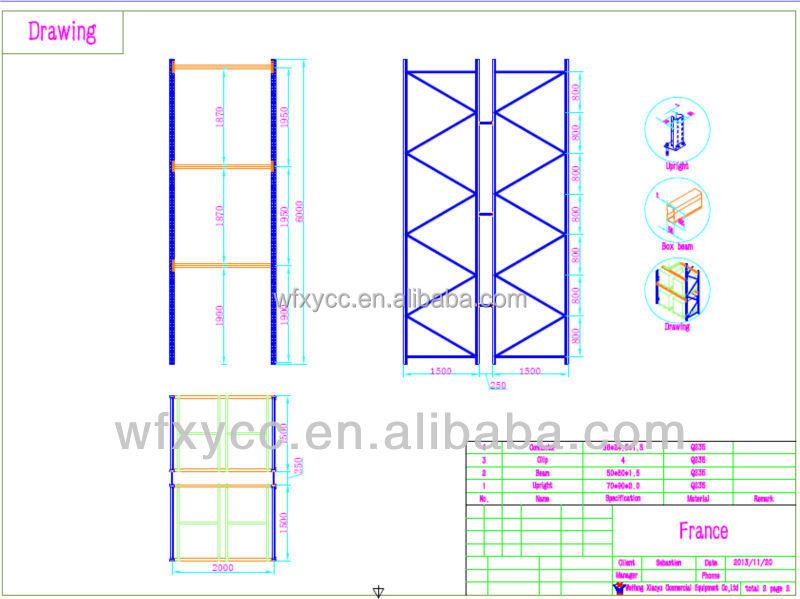 1 2 Ton Warehouse Rack Australia Standard Pallet Racking Storage