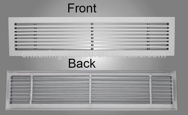 Hvac Grille And Diffuser Linear Bar Grille Ventilation