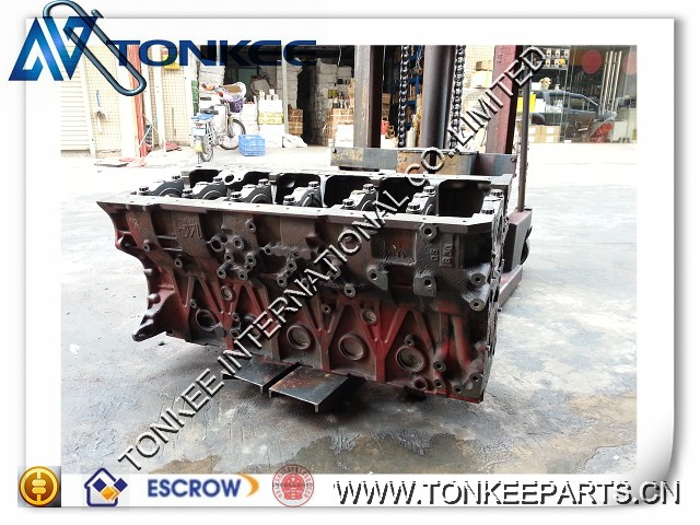 J08E CYLINDER BLOCK for SK330-8 hydraulic excavator